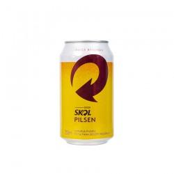Brazilsko pivo Skol, 355ml